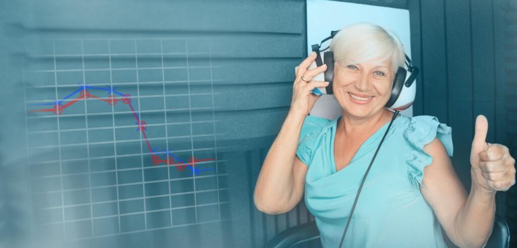 Aparaty słuchowe Toruń Medicum Auris badanie słuchu