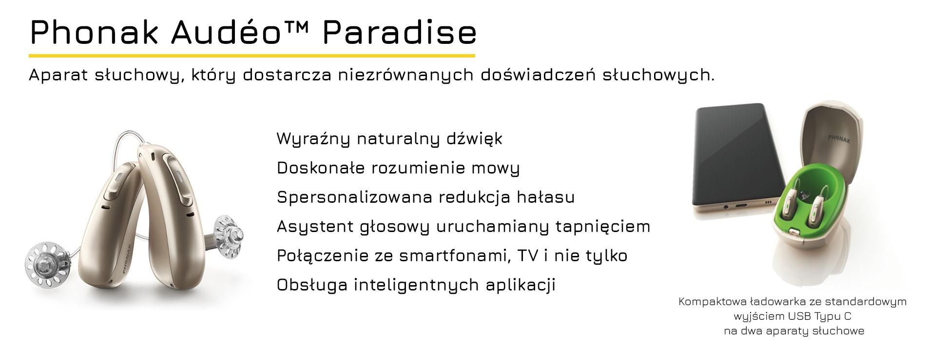 Plakat 03 Aparat słuchowy Phonak Audeo Paradise